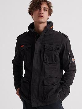 superdry-classic-rookie-four-pocket-jacket-black