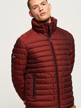 Superdry Superdry Double Zip Fuji Jacket - Red Picture