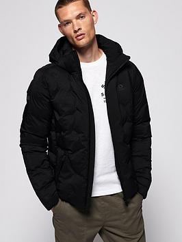 Superdry Superdry Echo Quilted Jacket - Black Picture