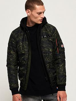 Superdry Superdry Rookie Flight Bomber Jacket - Khaki Picture