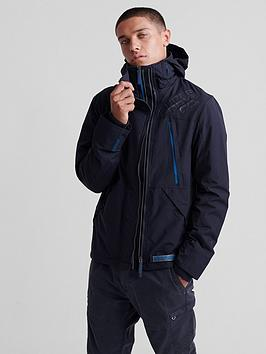 Superdry Superdry Hooded Polar Sd Windattacker Jacket - Navy Picture