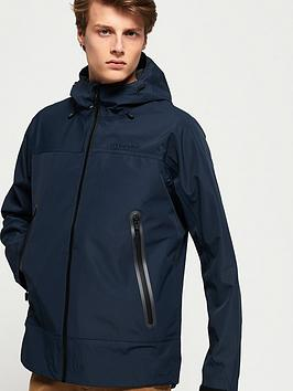 Superdry Superdry Hydrotech Waterproof Jacket - Navy Picture