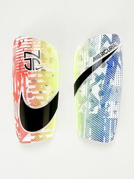 Nike   Kids Neymar Junior Shin Guards - White