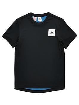 Adidas Adidas Youth Boys Training Aeroready T-Shirt - Black Picture