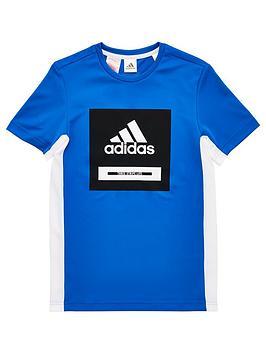 adidas-junior-boys-bold-logo-training-t-shirt-blue