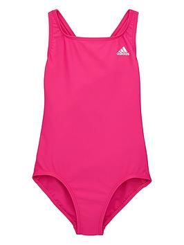 Adidas Adidas Youth Swim Fit Suit - Pink Picture
