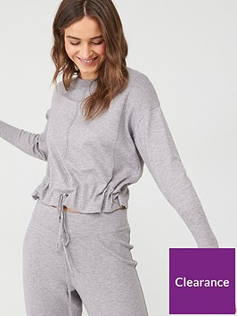 v-by-very-knitted-sweat-with-hem-drawstring-grey