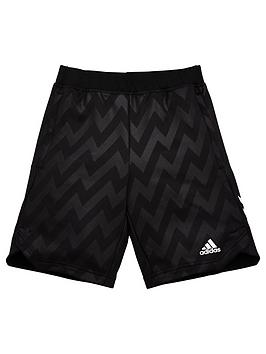 Adidas   Junior Boys Track Xfg Shorts - Black