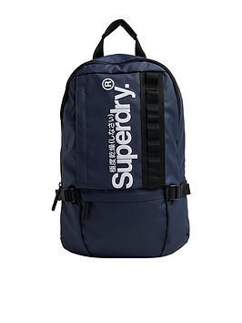 Superdry Superdry Slim Line Tarp Rucksack - Navy Picture