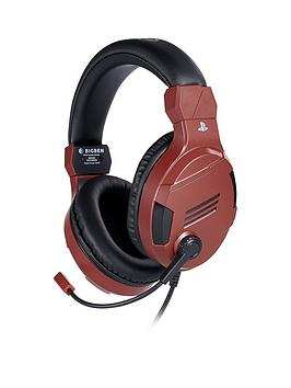 Very Red Sony Official Headset Picture