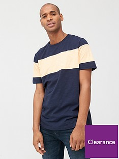 very-man-chest-slub-t-shirt-navycoral