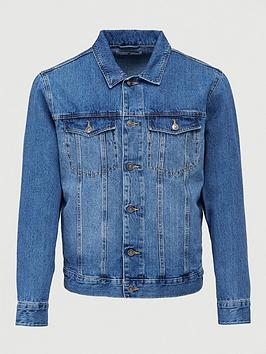 V by Very V By Very Denim Jacket - Mid Blue Picture