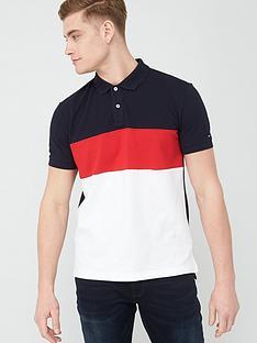 tommy-hilfiger-colourblock-regular-fit-polo-shirt-multi