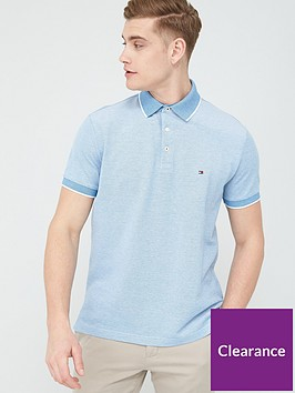 tommy-hilfiger-cool-oxford-regular-fit-polo-shirt-regatta-blue