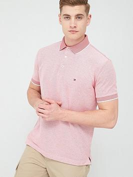 tommy-hilfiger-cool-oxford-regular-fit-polo-shirt-primary-red
