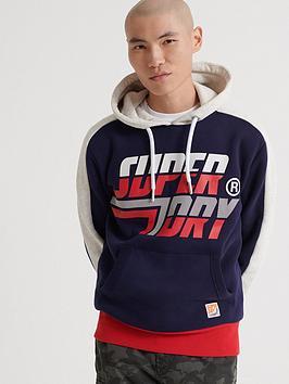 superdry-downhill-racer-panel-hoodie-navy