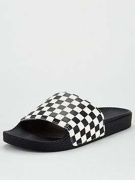 Vans Vans Slide-On Checkerboard - Black White Picture