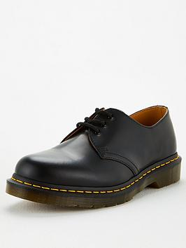 Dr Martens Dr Martens 1461 Leather Shoes - Black Picture