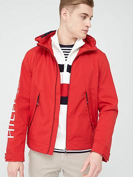 Tommy Hilfiger Tommy Hilfiger Flex Hood Blouson Jacket - Primary Red Picture