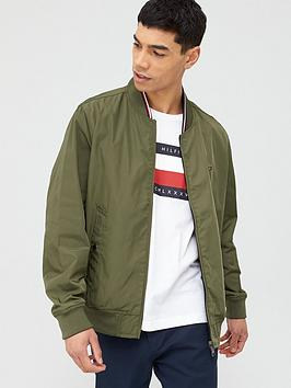 Tommy Hilfiger Tommy Hilfiger Reversible Bomber Jacket - Army Green Picture