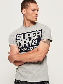 Superdry Superdry Denim Goods Co T-Shirt - Grey Picture