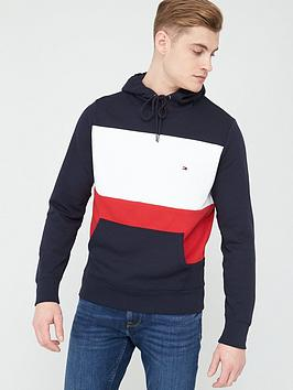 Tommy Hilfiger Tommy Hilfiger Colour Block Hoodie - Multi Picture
