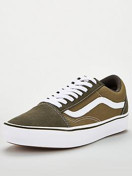 Vans Vans Comfycush Old Skool - Green/White Picture