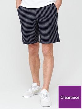very-man-stripe-short-black