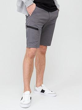 V by Very V By Very Tech Cargo Shorts - Grey Picture