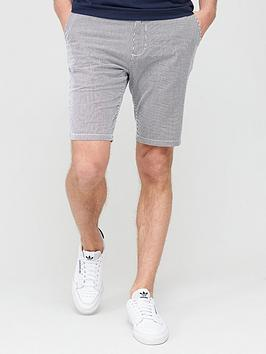 V by Very V By Very Stripe Short - Navy/White Picture