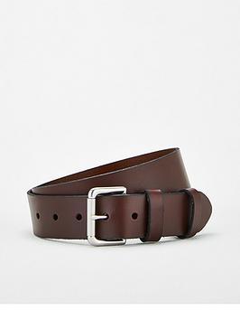 Polo Ralph Lauren Polo Ralph Lauren Leather Roller Buckle Belt - Brown Picture