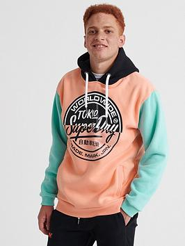 Superdry Superdry Ticket Type Ovrsized Hoodie - Pink Picture