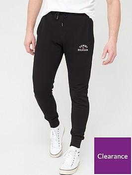 tommy-hilfiger-basic-embroidered-sweatpants-black