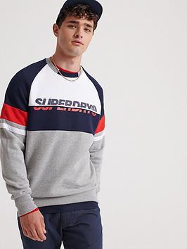 superdry-racer-print-crew-neck-sweater-grey