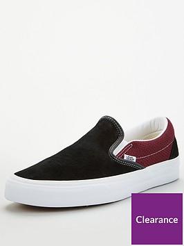 vans-classic-slip-on-blackrednbsp