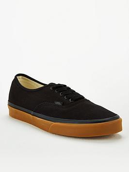 Vans Authentic - Black/Gum