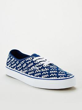 Vans Vans Ua Authentic - Blue Picture