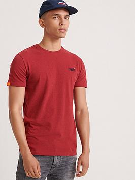 Superdry Superdry Orange Label Vintage Embroidery T-Shirt - Red Picture