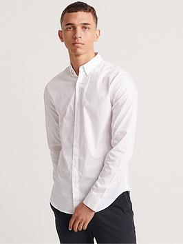 Superdry Superdry Edit Button Down Shirt - White Picture