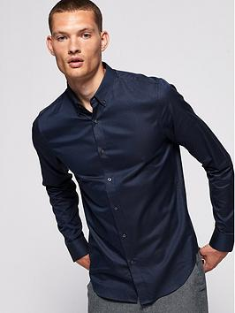 Superdry Superdry Edit Button Down Shirt - Navy Picture