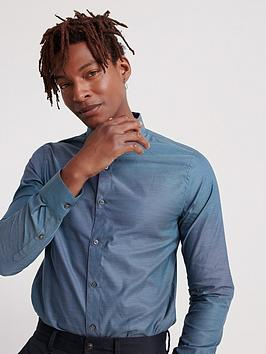 Superdry Superdry Edit Button Down Long Sleeve Shirt - Blue Picture