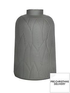 arthouse-dusky-grey-leaf-vase