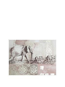 ARTHOUSE Arthouse Elephant Canvas Wall Art Picture