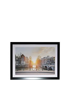 ARTHOUSE Arthouse  Bridge Scene Framed Print Picture