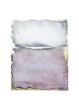 ARTHOUSE Arthouse Pink Wash Canvas Picture