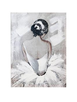 ARTHOUSE Arthouse Ballerina Canvas Picture