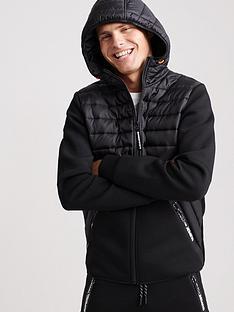 superdry-core-gymtech-hybrid-zip-jacket-black