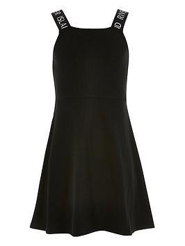 river-island-girls-ri-strap-skater-dress-black