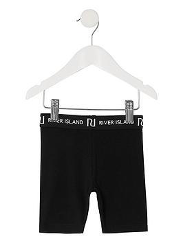 river-island-mini-girls-waistband-cycling-shortsnbsp-nbspblack