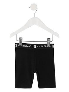river-island-mini-mini-girls-waistband-cycling-shorts-black
